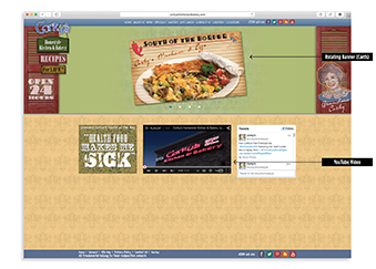 Corky's Website Elements