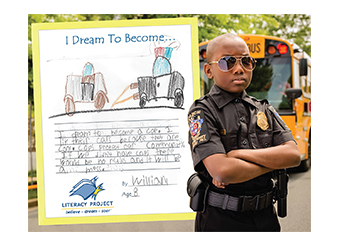 """I Dream to Become"" Poster - Cop"